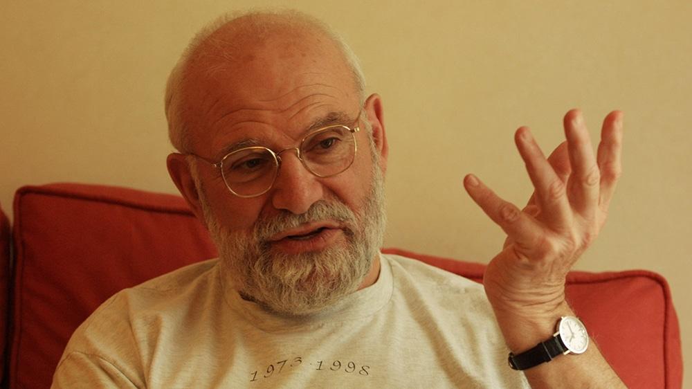 Oliver Sacks. In London